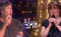 Susan Boyle Wows Judges on America's Got Talent, Earns a Golden Buzzer