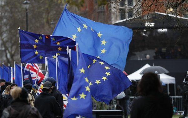 Anti Brexit protesters