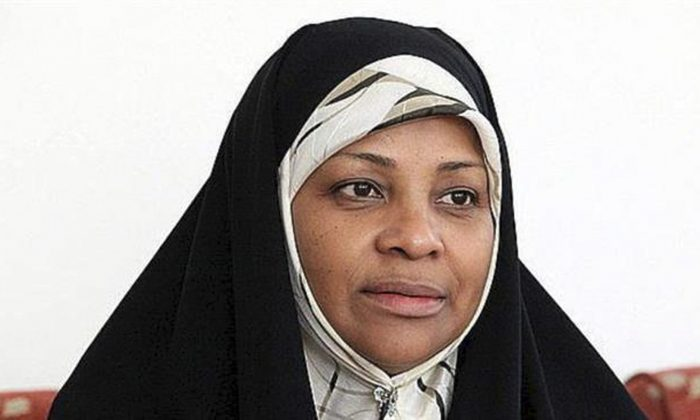 This undated photo provided by Iranian state television's English-language service, Press TV, shows its American-born news anchor Marzieh Hashemi. (Press TV/AP)