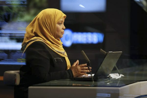 news anchor Marziek Hashemi