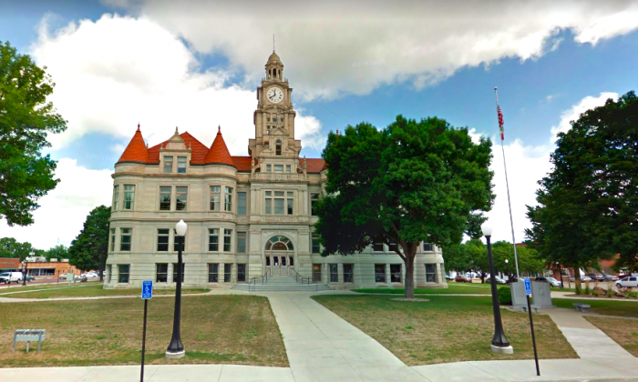 A couple has been sentenced to life in prison after they were found guilty of starving their adoptive daughter to death when she was 16 years old. The sentencing took place at the Dallas County Court House in Adel, Iowa, on Jan. 18, 2019. (Screenshot/Google Maps)