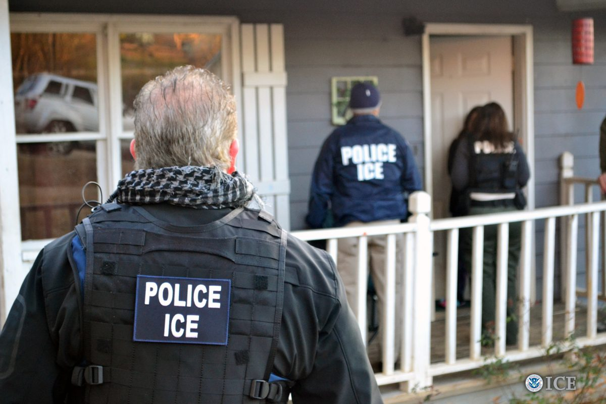 U.S. Immigration and Customs Enforcement conduct a targeted enforcement operation