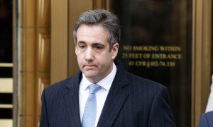Michael Cohen Sues AG Barr, Claims Retaliation for Plans to Publish Book Critical of Trump
