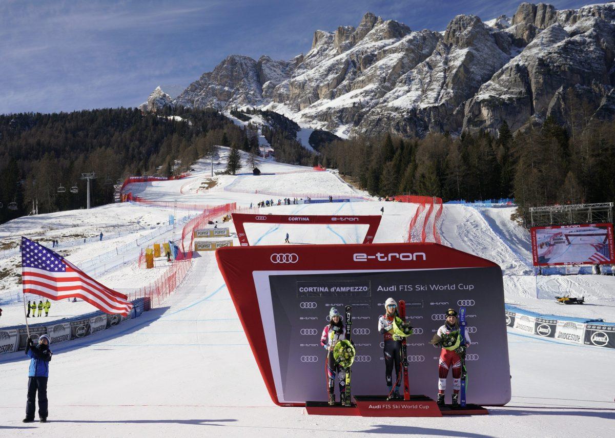Mikaela Shiffrin winner alpine ski