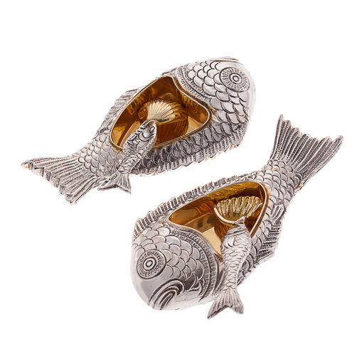 Fish sterling silver