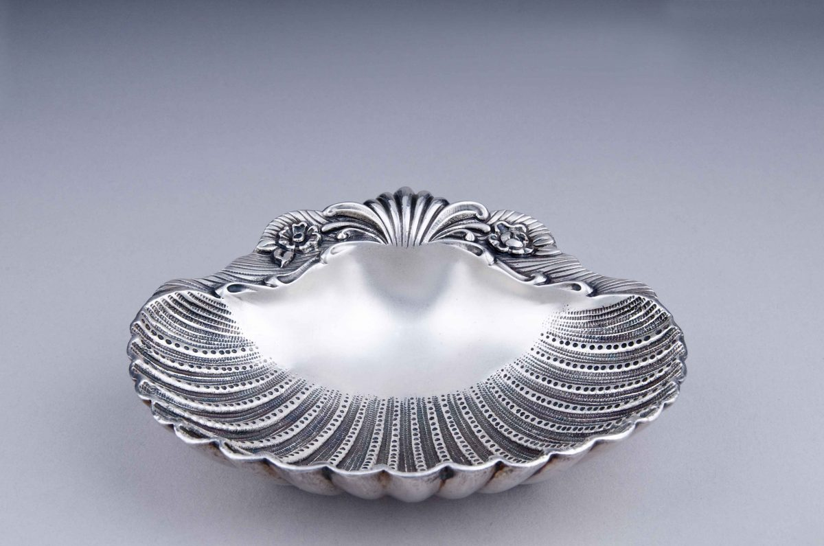 Shell sterling silver