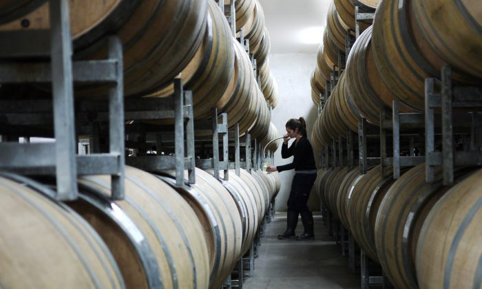 An undated photo of wine barrels in Australia. (Courtesy of Wine Australia).jpg