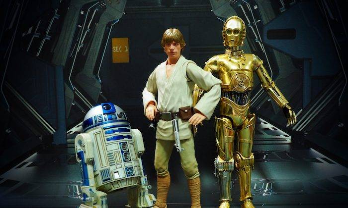 "Luke Skywalker (C) in ""Star Wars"" tries to restore the traditional spiritual path of his galaxy. (Shutterstock)"