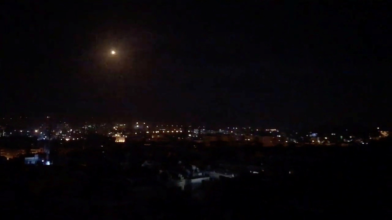 israeli military strike against iran qud in syria