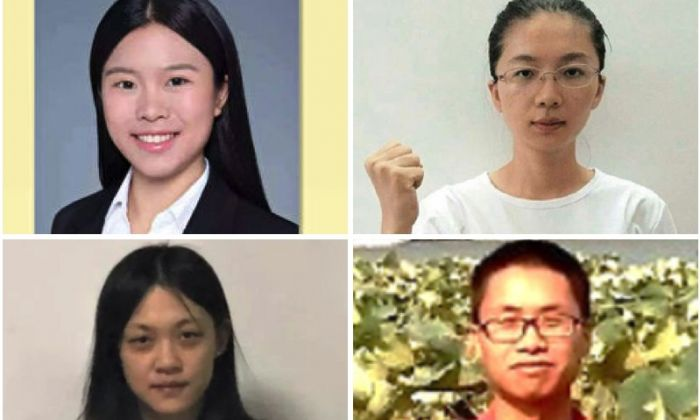 Four detained students were shot a confessional video. Others said it's an arrangement by Communist regime. (Dajiyuan)