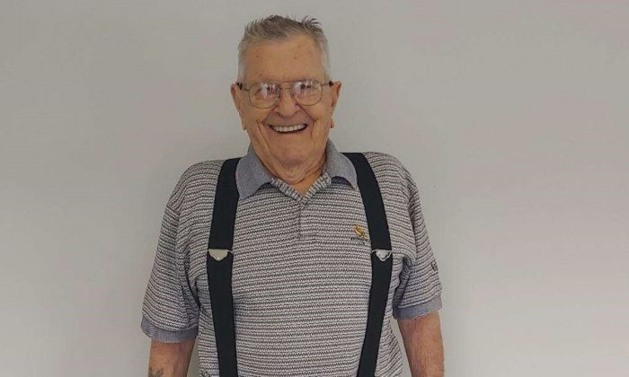 World War II veteran Ellsworth Bell lost 25 pounds on his Jenny Craig Diet. (Courtesy of Jenny Craig)