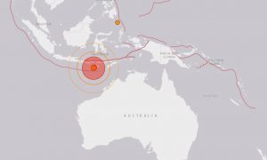 Five Earthquakes in Five Hours Hit Near Indonesia