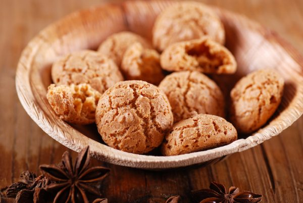 Amaretti star in dishes both sweet and savory.