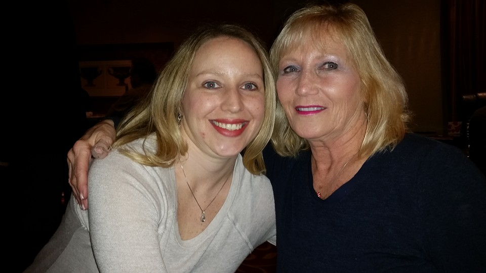 emily wade with mother