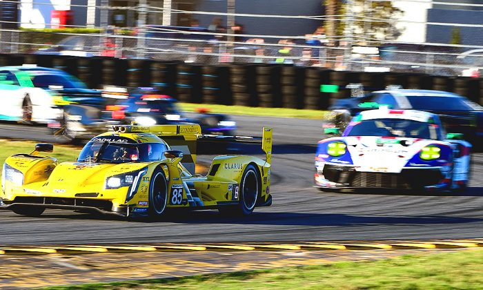 Sports car racing is back! Eleven DPis, 9 GTLMs, and 23 GTDs will take the green flag for the 2019 IMSA Rolex 24 at Daytona at 2:35 p.m. on Jan. 26. (Bill Kent/Epoch Times)