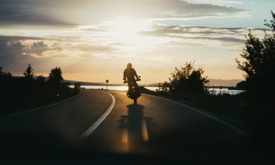 Riding Motorcycles to Relieve Stress