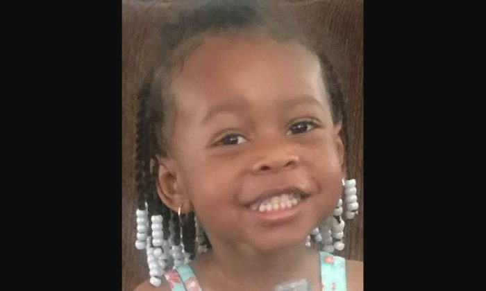 Zaela Walker, 3, has been missing for 145 days as of Jan. 23, 2019. On Jan. 22, 2019, her father Ricky Beasley appeared in court in Las Vegas to face kidnapping and child neglect charges. (National Center for Missing & Exploited Children)