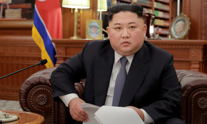 North Korean leader Kim Jong Un in Pyongyang in this Jan. 1, 2019 photo. (KCNA via Reuters)