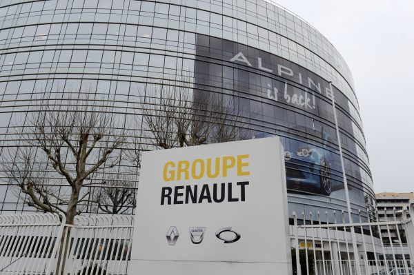 French car manufacturer Renault