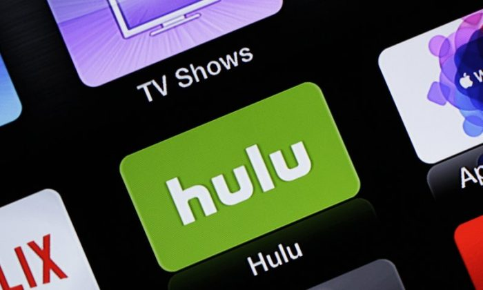 A Hulu Apple TV app icon in South Orange, N.J., onJune 24, 2015. (Dan Goodman/AP Photo)