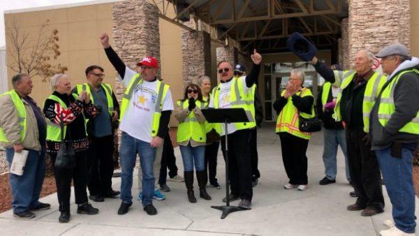 Activists cheer