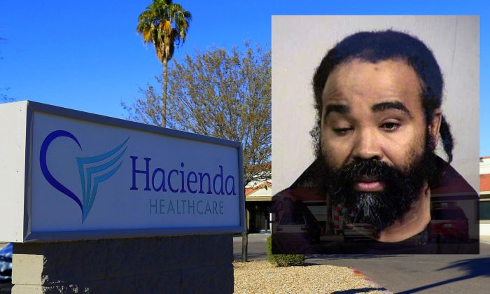 Phoenix police say Nathan Sutherland, a licensed practical nurse, has been arrested on a charge of sexual assault of an incapacitated woman who gave birth last month at a long-term health care facility on Jan. 23, 2019. (Maricopa County Sheriff's Office/AP)