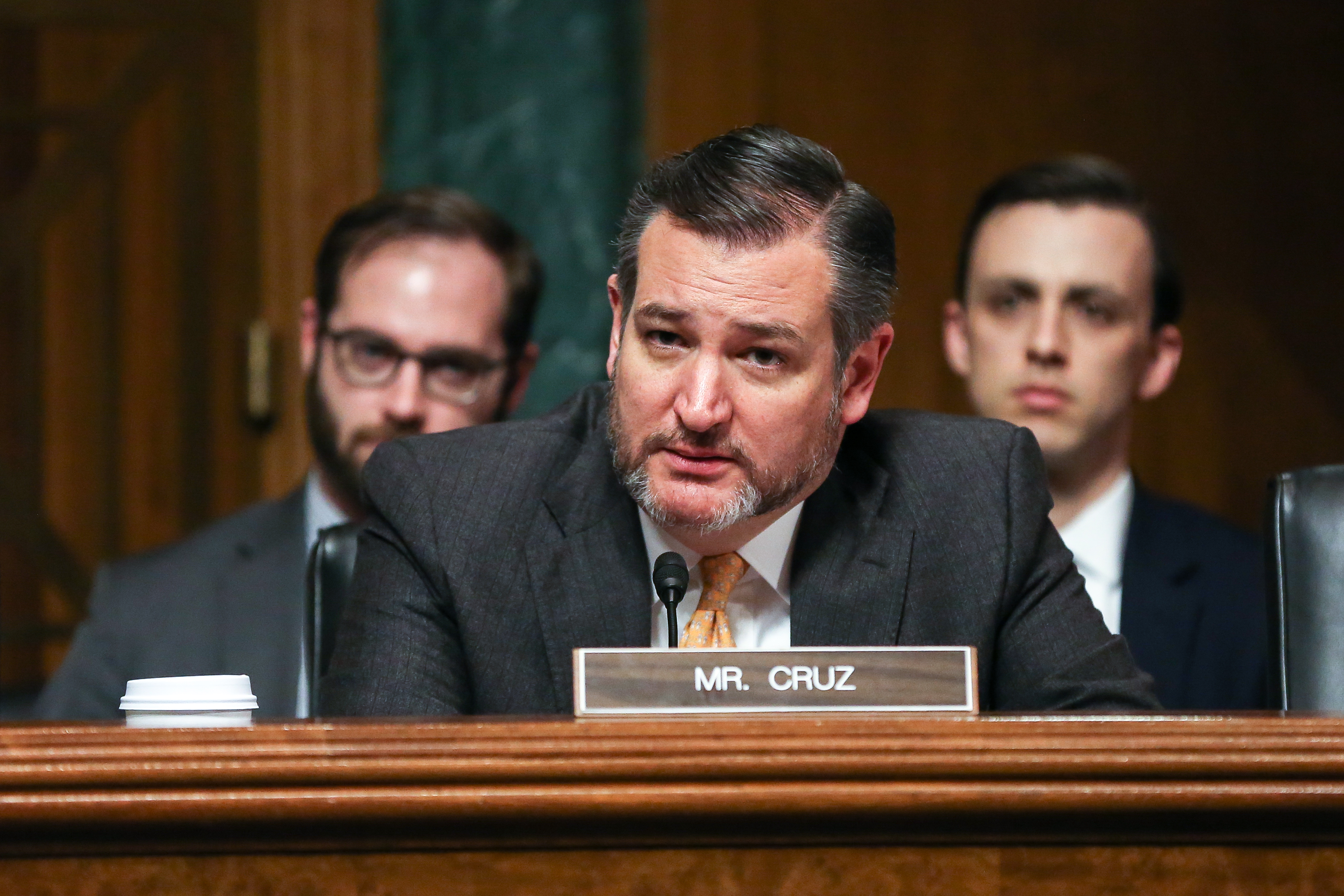 Ted Cruz Urges Administration to Release Transcripts of Biden's Calls With Ukraine
