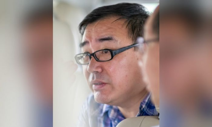 Yang Hengjun, author and former Chinese diplomat, who is now an Australian citizen, is pictured in an unspecified location in Tibet, China on July, 2014 in this social media image obtained by Reuters. (Reuters)