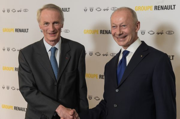 new appointed chairman renault