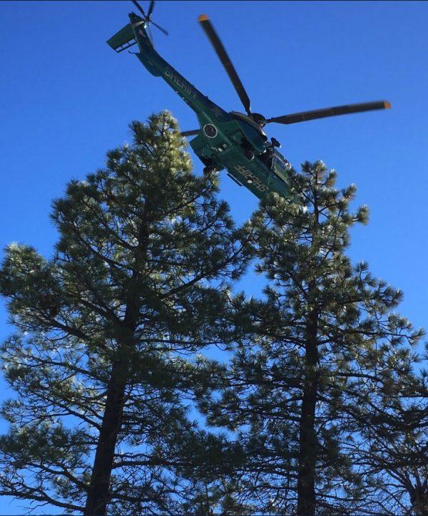 special enforcement bureau rescue helicopter