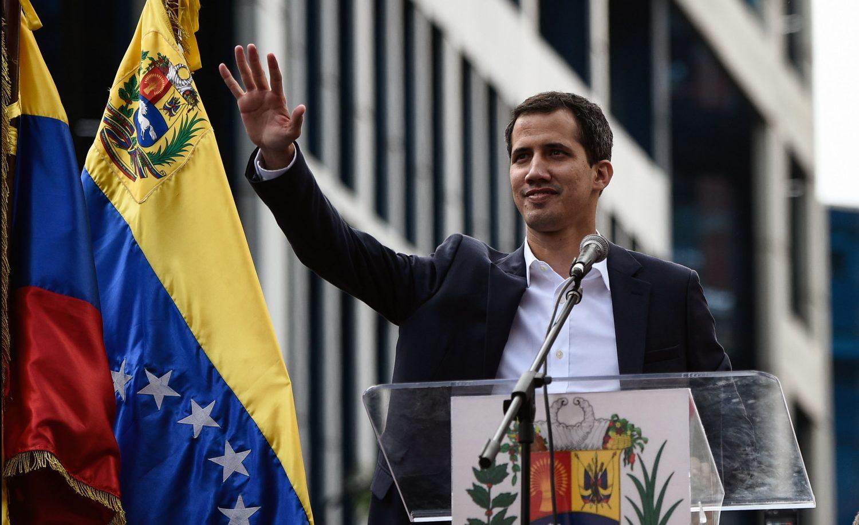 Venezuela's National Assembly head Juan Guaido