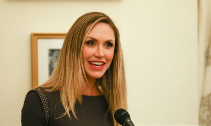 Lara Trump, daughter-in-law of President Donald Trump, attends the Women for America First Summit, at Trump International Hotel in Washington on Oct. 5, 2018. (Jan Jekielek/The Epoch Times)
