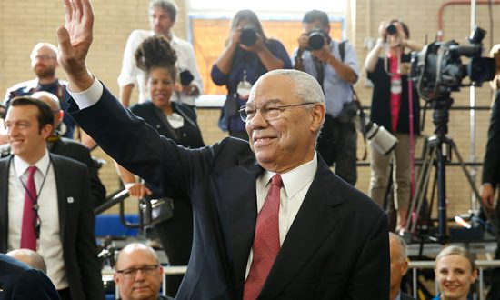 Man Who Lost Leg in Afghanistan Changes Tire for His Stranded Idol, Colin Powell