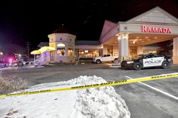 State College Police respond to a shooting at P.J. Harrigan's Bar & Grill