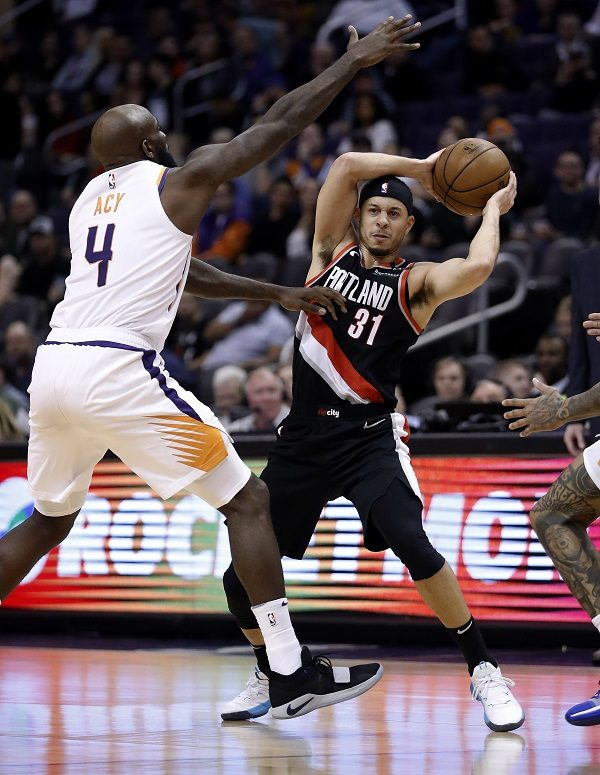 Trail Blazers Suns Basketball