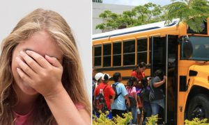 Teen Acts Quickly When He Sees Girl Get Her Period on School Bus, and Mom Praises Him
