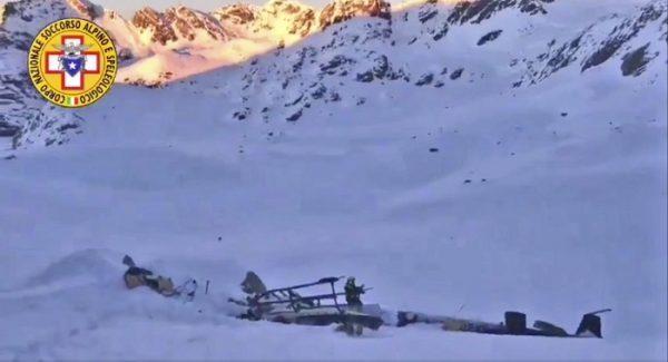 Italy Plane Helicopter Crash