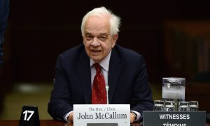 Canada's China Envoy McCallum Resigns at Request of Prime Minister Trudeau
