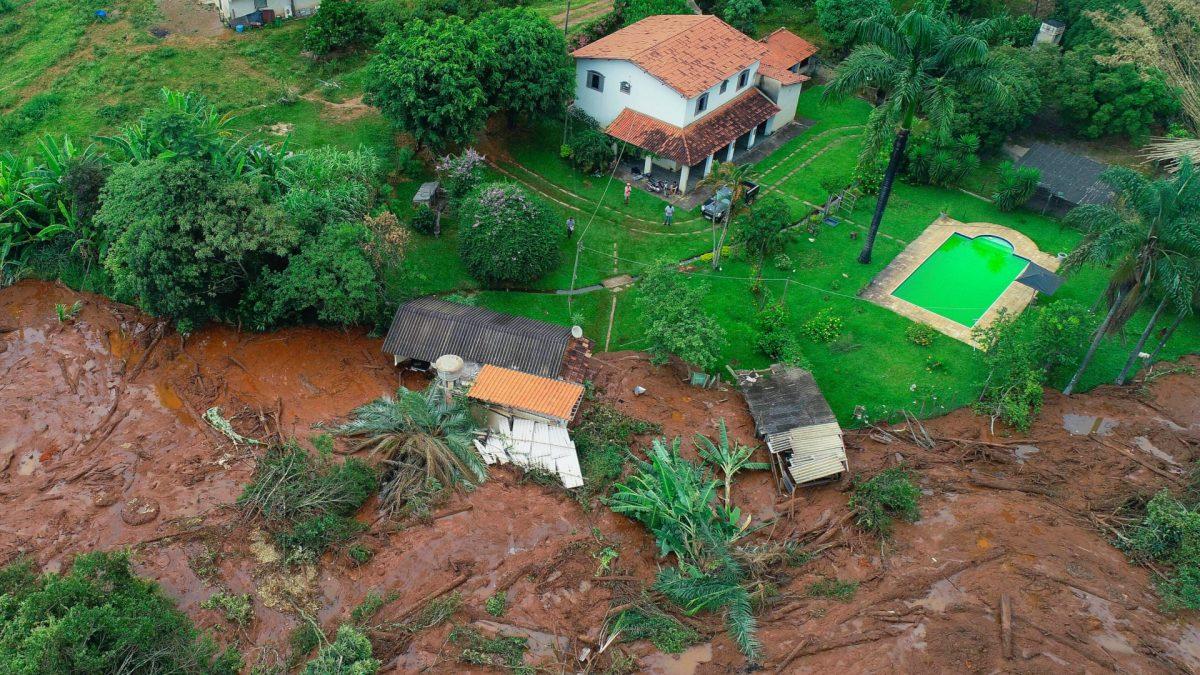 Brazil dam exploded
