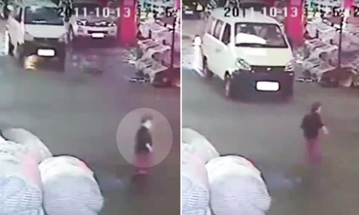 In recent years, CCTV cameras across China have regularly captured drivers who had just accidentally knocked down a pedestrian intentionally reverse to kill the injured person. (YouTube Screenshot | China Uncensored)