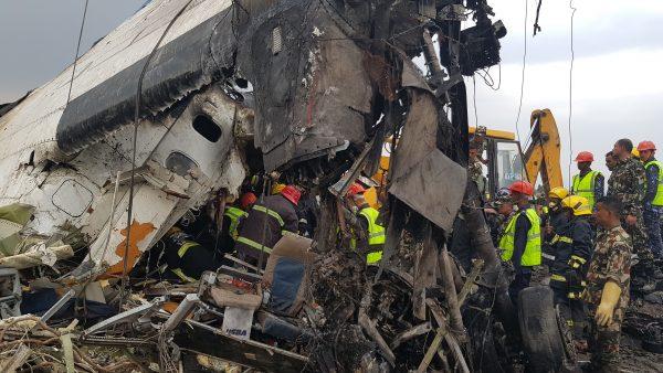 Bangladeshi passenger plane crashed