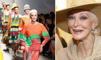 87-Year-Old Fashion Model Carmen Dell'Orefice Shares Super-Simple Skincare Tips