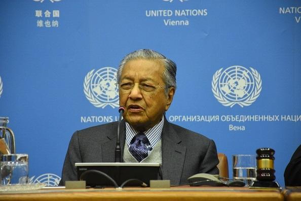 Prime Minister Mahathir