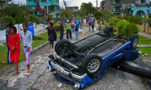 3 Dead, 172 Hurt After Tornado Hits Havana, Cuban President Says