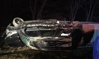 Sheriff Flips SUV After Rock Thrown Through Windshield, Two Juveniles Charged