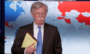 Bolton's Notes Raise Questions on Military Plans in Venezuela