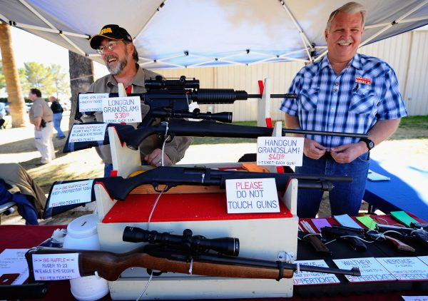 Gun Show Held At Pima County Fairgrounds