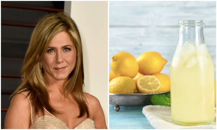 Jennifer Aniston's favorite hair product is lemon water (Pascal Le Segretain/Getty Images, Africa Studio/Shutterstock)