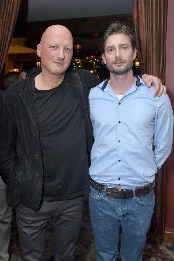 Filmmaker Dan Reed and James Safechuck