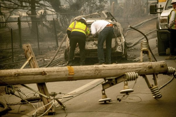 California Wildfires Utility Bankruptcy